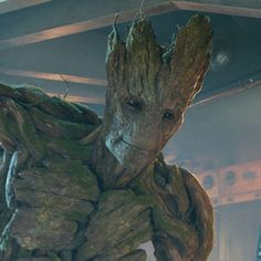 Vin Diesel as the voice of Groot in Guardians of the Galaxy ; Guardians of the Galaxy Vol. Avengers: End Game Marvel Comics, Marvel Heroes, Marvel Characters, Marvel Avengers, Comic Book Characters, Groot Avengers, Flora Colossus, Hulk, Gaurdians Of The Galaxy