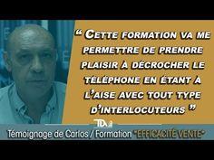 Formation commerciale EFFICACITÉ VENTE : Témoignage de Carlos