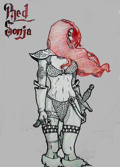 Fan Art! #Comic #RedSonja