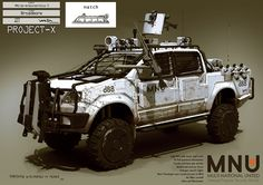 Armoured Hilux5 - Bug Out Vechile - fully loaded!