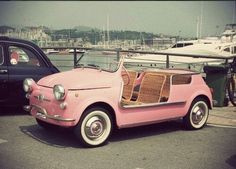 how adorable is this?! would love to drive it up and down the beach