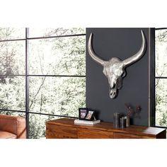 Nice Modern schedel El toro XXL cm antiek goud Beelden en decoratie Pinterest Catalog and Modern