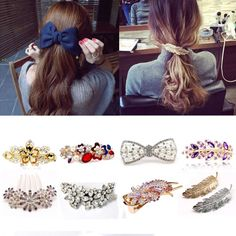 Girl's Accessories Apparel Accessories Fashion Hair Claws Imitation Pearl Lady Headwear Accessories For Women Hairpins Plastic Elastic Barrette Hot As Effectively As A Fairy Does