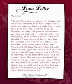 How to write the best love letter for her