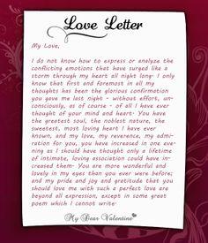 first love letter to my boyfriend