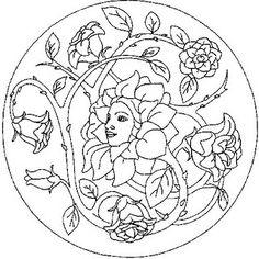 All Things Parchment Craft : Mandala Doodle Coloring, Mandala Coloring Pages, Adult Coloring Pages, Coloring Sheets, Coloring Books, Mandala Nature, Flower Mandala, Mandala Pattern, Mandala Design