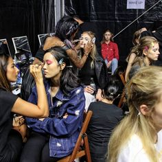 Yesterday's backstage at @byblos_official check out the link in my bio for more of my backstage and runway shots #mfw #milanfashionweek #mmd . . . #ootd #outfit #ootdmagazine #outfitoftheday #fashionista #streetstyle #fblogger #styleblog #aboutalook #fashiondiaries #whatiwore #wiw #wiwt #currentlywearing #outfitinspiration #lookoftheday #todaysoutfit #ootdfash #ootdshare #outfitpost #fashionpost #lotd #lookbook #styleoftheday