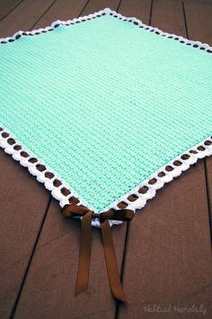 What's on my hook: Tiramisu baby blanket | Habitual Homebody