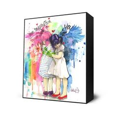 You and Your Imagination Mini Art Block By: Lora Zombie - The Incredible Art Gallery