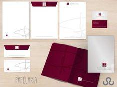 Letterhead Design, Stationery Design, Branding Design, Logo Design, Office Stationery, Portfolio Logo, Portfolio Design, Designers Gráficos, Stationary Branding