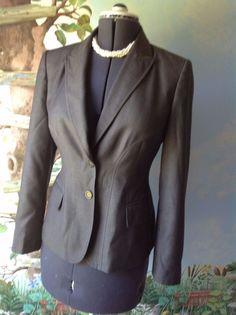 Anne Klein  Long Sleeve Light Brown Suit Jacket Blazer SZ 8 #AnneKlein #Blazer