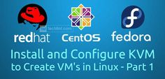 Install and Configure KVM in CentOS
