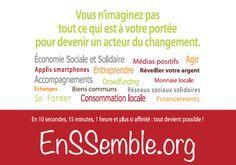 L'Économie Sociale et Solidaire (ESS) propose des pistes concrètes à tous ceux…