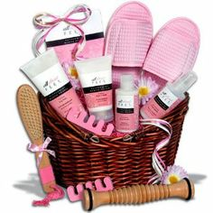 Deluxe Pedicure Gift Basket by GourmetGiftBaskets.com. $89.99. Your gift always arrives with an upscale, FREE gift card!. Order before 5PM EST and your order ships out the same day!. Award-Winning Gift Baskets with Award-Winning Gourmet Foods.. Need it quick? We have LOW express shipping rates.. 100% Satisfaction Guarantee for you and your recipient.. Our pedicure gift baskets are an excellent way to bring the rejuvenating power of the pedicure right to her door, and in...