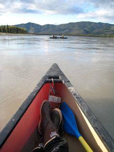 The Yukon River is 1979 miles long and empties into the Bering Sea. Yukon River, North To Alaska, Alaska Adventures, Yukon Territory, Call Of The Wild, Alaska Travel, Pretty Photos, Oceans, Waterfalls