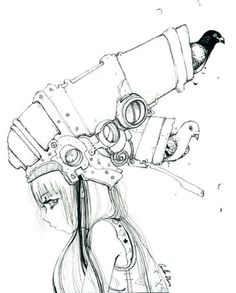 Pigeon Cannon by *camilladerrico on deviantART