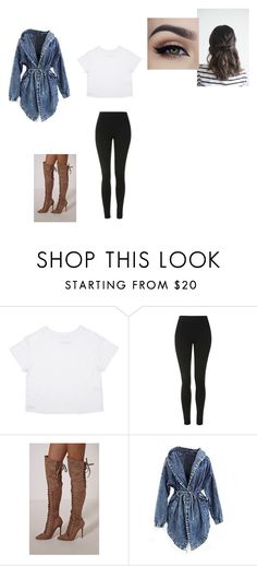 """""""Untitled #433"""" by melissaperez427 on Polyvore featuring Topshop"""