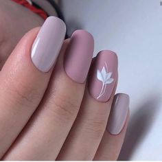 Stylish Acrylic Nail Art Design Ideas That You Can Try This Year. Acrylic square nails are the basic shape of a classic French manicure. Simple Acrylic Nails, Best Acrylic Nails, Acrylic Nail Art, Acrylic Nail Designs, Simple Nails, Short Nail Designs, Cute Nail Designs, Square Nail Designs, Short Nails Art