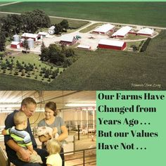 Our farms may have changed but our values have not. via Wisconsin Farm Bureau
