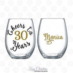 Cheers to 30 years 30th birthday gift for women by ZoeyChristina