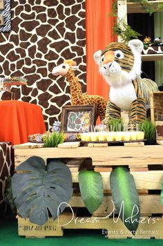 Jungle Safari Birthday Party Ideas | Photo 14 of 33