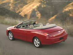 The Toyota Camry Solara Convertible is a US-mid-sized drop-top designed with the cruising American market in mind. Toyota Solara Convertible, Car Cleaning Hacks, Toyota Camry, Dream Cars, Vehicles, Hate, Sport, Cars, Deporte