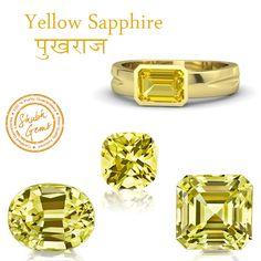 Certified Natural Astrological Yellow Sapphire from Ceylon, Sri Lanka for Good Luck. FREE Gem Advice & Horoscope. Call 8010-555-111 Live-Chat www.shubhgems.in Address: SHUBH GEMS, L-75, Shiv Mandir Marg, Lajpat Nagar-2, New Delhi-110024 Facebook: www.facebook.com/shubhgems