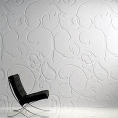 3d floral wall panels | Decorative 3D wooden wall panel: MDF 509 - FLOWER Freund GmbH