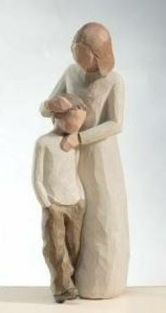 Willow Tree Mother and Son Figurine