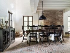 Canadel Farmhouse Table And Chairs Available At Mooradians Furniture In Albany Clifton Park Ny