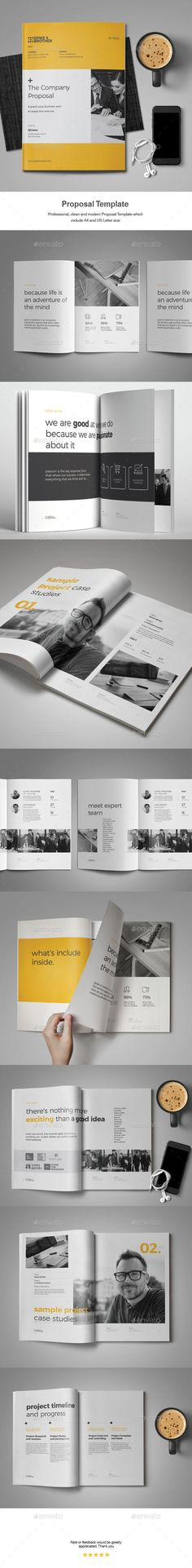 Project Proposal Template 005 Minimalist | Project Proposal