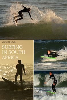 Learn how to surf with the only surfing school in South Africa that is ran by 3 surf champions. Effective, and a whole lot of fun!