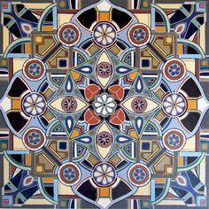 Mandala art by South African singer/songwriter Lize Beekman