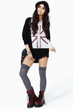 Union Jack Muscle Tee | Shop Sale at Nasty Gal