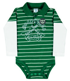 Baby Clothing - Collection: 2014 Fall/Winter.  Name: Stripe Polo Onesie. Available in 2 colors.