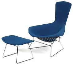 Harry Bertoia's Bird Chair dates from the 1950s