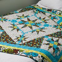 Free Star Quilt Pattern - Radiance | Fons & Porter's Love of Quilting