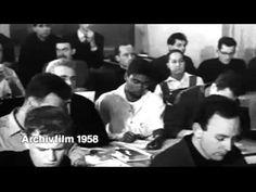 1. Imágenes del acto de entrega a Inge Scholl de un millón DM por parte de John McCloy, Alto Comisionado de los Estados Unidos en Alemania, el 30 de diciembr...