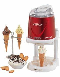 Ariete Macchina per fare Gelato Gelatiera Cestello 1 Lt. 634 Softy Ice Cream