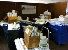 Jacksonville's total recycling haul