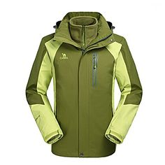 Camel Men's Interchange 3-in-1 Active Outdoor Sports Jacket Color Green Size XXL Learn more by visiting the image link.