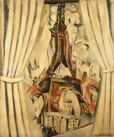 Robert Delaunay, Metzinger and Le Fauconnier had been noticed at the Salon des Indépendants of that same year, 1910, without a label being fixed on them. Description from shelf3d.com. I searched for this on bing.com/images