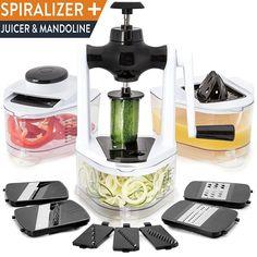 Multi Purpose Best Juicer Slicer Spaghetti Noodle Maker Vegetable Cutter Zoodler #HomeHero