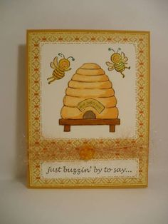 Just Buzzin' By! by lORRIETORI - Cards and Paper Crafts at Splitcoaststampers