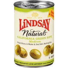 Lindsay Naturals California Green Ripe Olives, 6 Oz