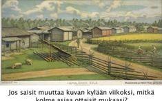 Suomi-kuvan rakentajat  – Kansakoulun kuvataulut Vineyard, Outdoor, Outdoors, Vineyard Vines, Outdoor Games, Outdoor Living