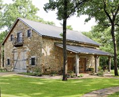 This field stone barn is a stunner