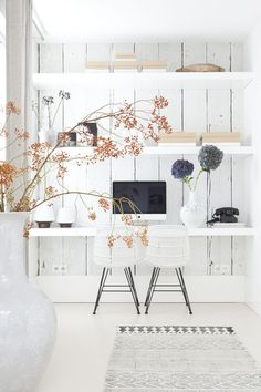 house: the home office. dream house: the home office.dream house: the home office. Office Nook, Home Office Space, Office Workspace, Home Office Decor, Office Ideas, Office Inspo, Office Spaces, Workspace Design, Desk Space