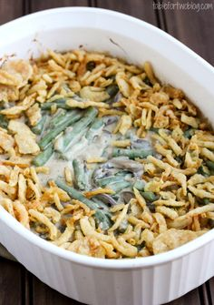Green Bean Casserole - Table for Two