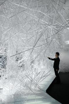 Winter Furniture Collections : Yoshioka Snowflake Exhibit